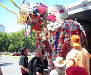 Recycle Elephant in Sacramento
