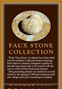 Sand Stone Poster