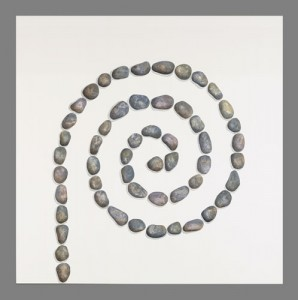 Spiral pebbles